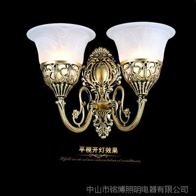一件代发卧室创意欧式壁灯led 室内酒店床头灯古镇灯饰灯具801