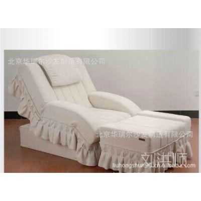 电动桑拿洗浴休闲会所场休息大厅沙发足浴美甲椅足疗沙发按摩床