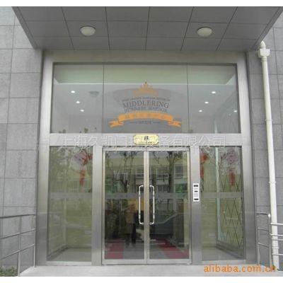 供应特价不锈钢地弹簧门,电控玻璃门,玻璃门,电子门