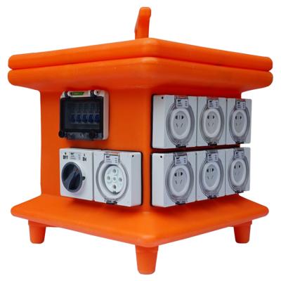 指印防水插座箱ZAL001 防水电源箱