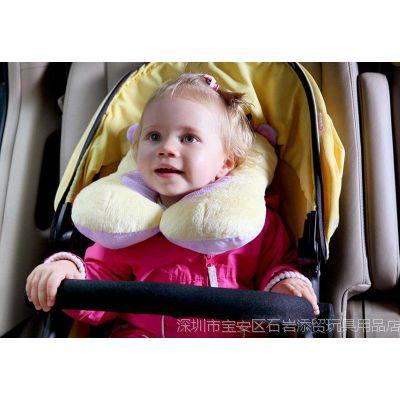 Fisher Price 费雪婴儿童冬夏两用宝宝护颈枕/U型枕头坐车必备