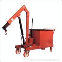 供应配重式液压小吊车 手动液压旋转吊车 发动机吊架