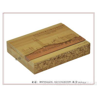 深圳特权成立30年精品木制金币包装盒 木制金币礼品盒 木金币盒
