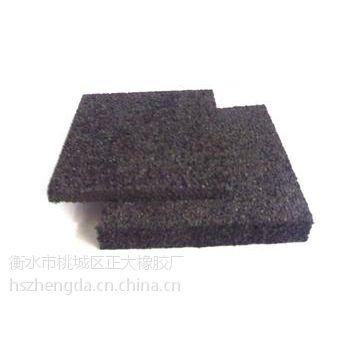 雷山供应聚乙烯减震垫板/黑色聚乙烯泡沫板厂家直销