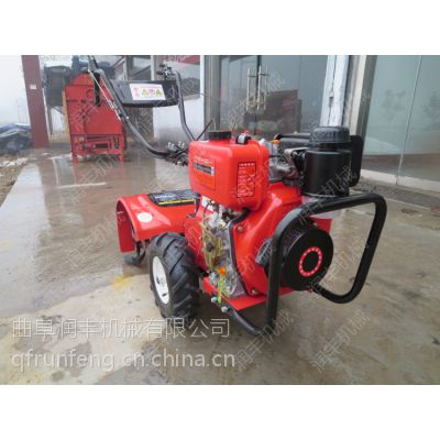 翻土耕整旋地机 润丰 汽油和柴油型旋耕机功能区别