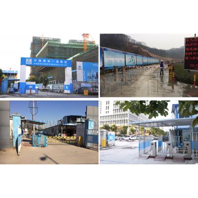 南京仲子路工地智能通道闸机管理系统设计方案