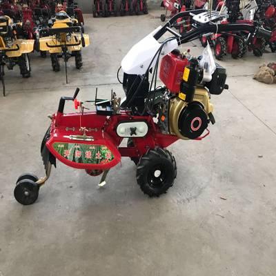 汽油旋耕机 手推式小型松土机 富兴汽油除草机
