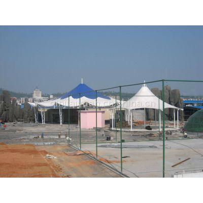 全国测量 膜结构车棚、景观遮阳雨篷_骏阳 设计免费