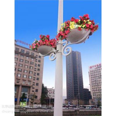 灯杆绿化挂花|灯杆绿化|【创园景观】