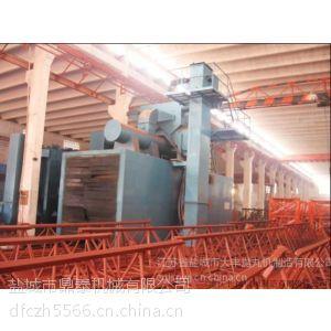 供应塔吊抛丸喷砂除锈清理机 塔机抛丸机,塔机除锈机
