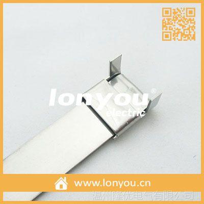 预制式不锈钢扎带/捆绑带(LX型扣)