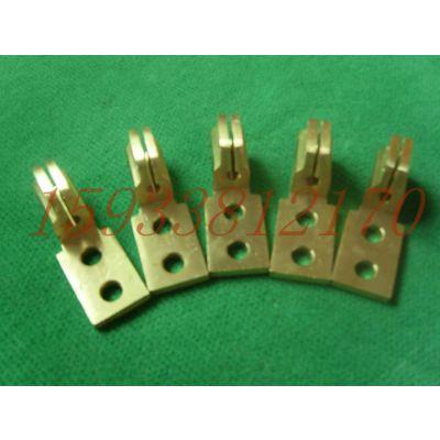 供应变压器配件/铜抱杆/佛手/巴掌线夹
