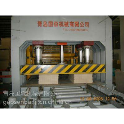 供应青岛国森各种压力幅面的木工冷压机