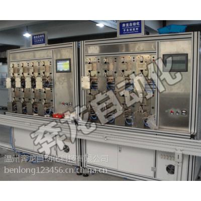 供应奔龙自动化BPNL-32漏电断路器半自动延时检测生产线