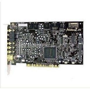供应创新7.1声卡 A2ZS SB0350 镀金口