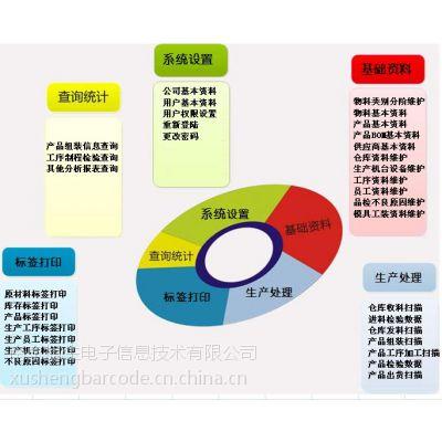 苏州南京条码追溯管理系统原材料追溯成品半成品追溯