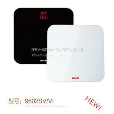 供应EKS电子秤9602SV 高档高强度ITO玻璃+全包边ABS底壳 LCD红色隐形液晶显示超载/低