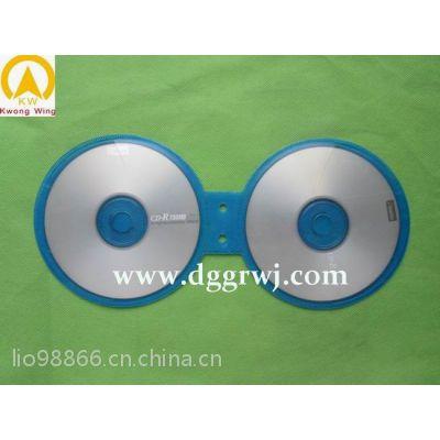 供应圆形8字形4片装CD内页CD袋CD包CD套内页