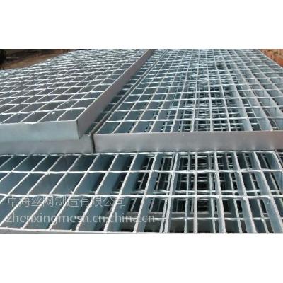 生产销售:平台钢格板/热镀锌钢格板/楼梯踏步板