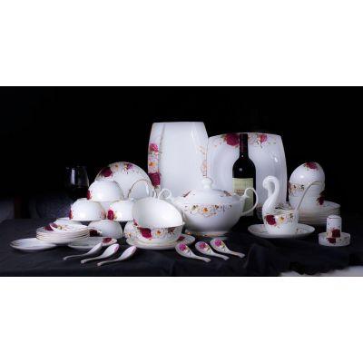 供应陶瓷餐具 精美56头餐具 送礼佳品