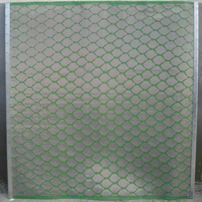 厂家直销聚氨酯复合网石油复合网黑胶条复合网