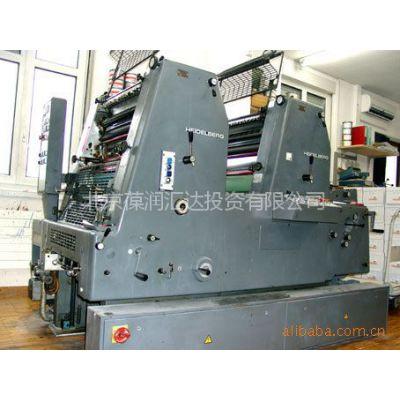 供应德国进口海德堡1997年产双色胶印机GTO 52-2-P 加强版