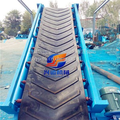 钢丝绳牵引升降式输送机,晋州10米长圆管皮带机,V型皮带输送机图片