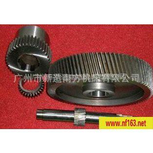 长期供应数控设备配件铸铁外螺旋斜齿轮