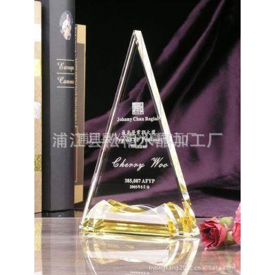 供应水晶奖牌定制 各种规格赛事奖牌 高品质水晶工艺品