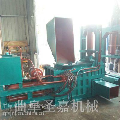 新疆棉花打包机圣嘉专供 全自动大型卧式液压打包机价格