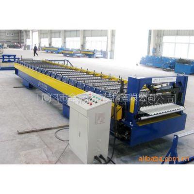 供应波形板压瓦机C型钢金属成型设备彩钢瓦机开卷机