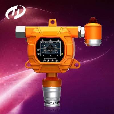 固定式氧气检测报警仪TD5000-SH-O2_氧浓度探测器_工业级氧含量检测仪天地首和