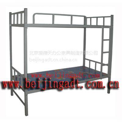 供应厂家批发钢制上下床 环保喷塑 40*40方管主架 多层板床板