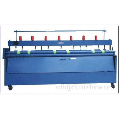 供应冬天保温机械棉被加工机价格,7针直线直缝机生产厂家,可调节的引被机图片