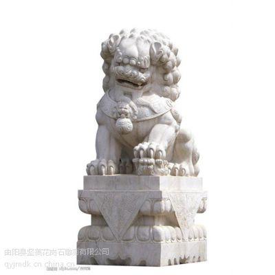 石雕狮子、坚美花岗岩雕刻、曲阳石雕狮子