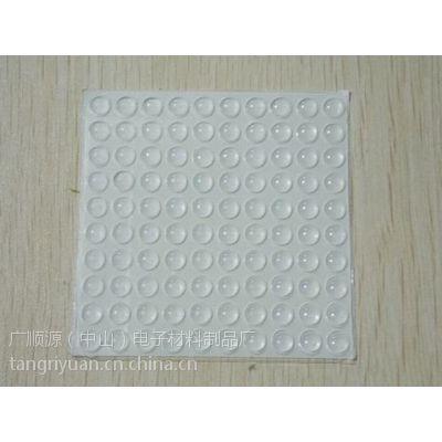 专业生产半透明硅胶垫、10*4玻璃垫,圆形胶垫,PU透明