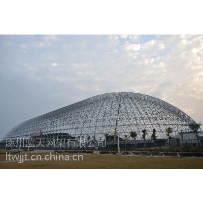 中国神华能源股份项目。钢网架。钢结构,低合金高强度结构钢/大跨度的体育场馆