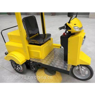 直销全自动电池充电式清扫车供应多功能扫地车