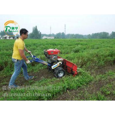 农业自走式割晒机 润华农作物收获机