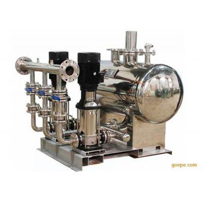 供应广东变频供水-无负压供水-二次加压供水-广州市海威泵业DWS无负压变频供水