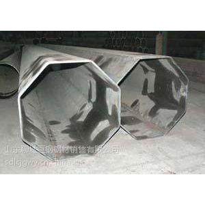 Q235锥形八角管-Q235大口径锥形八角高压线立柱管生产
