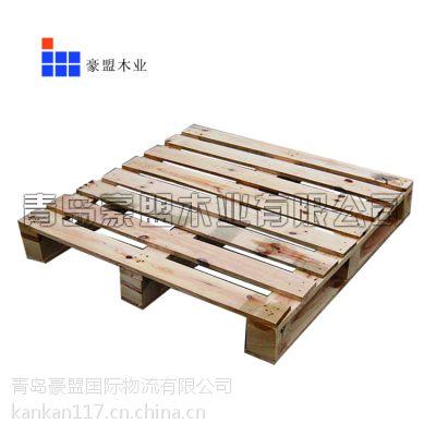 青岛木托盘柳桉板托盘承重好价格低欢迎来电咨询可以定做