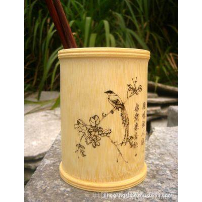 竹制品、竹工艺品、竹筷筒、竹箸、竹笔筒、竹筒可定制加LOGO