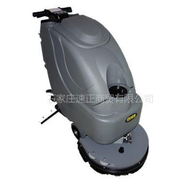 河北供应电瓶版洗地机 欧洁OJER-T3手推式洗地机
