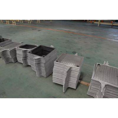 莘明 供应高强度耐高温固液分离 铸铁板框式压滤机滤板