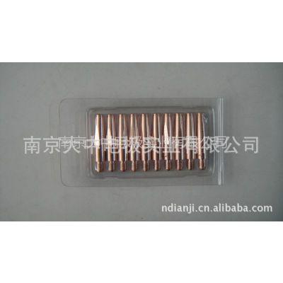 供应专业生产优质气保焊导电嘴 OTC欧地希8*40*(0.8-1.6) 铬锆铜质