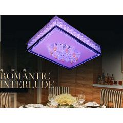 供应便宜的现代简约水晶吸顶灯客厅灯具卧室灯饰餐厅灯品牌介绍