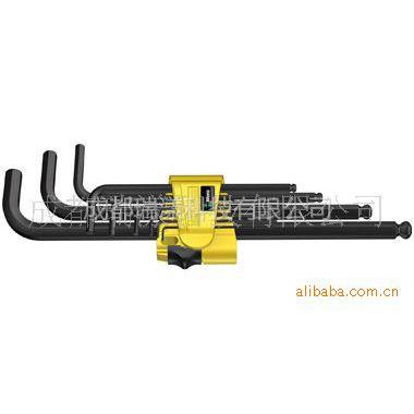 供应德国wera维拉950 PKL/9 SZ N 六角工具套装,英制,黑色镭射
