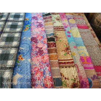 南通外贸原单绗缝式床盖床垫绗缝夹棉批发厂家1.8*2 2*2.3米