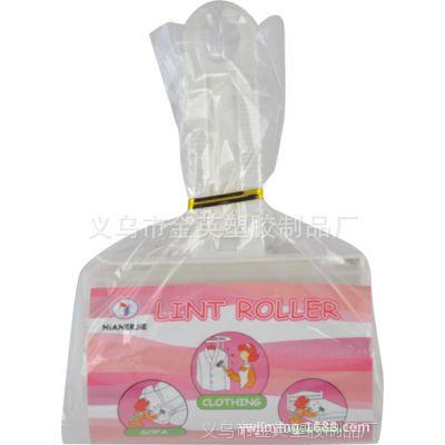 清洁胶带 t型滚筒刷 衣帽刷 宠物黏毛刷 粘尘刷 opp袋子包装40撕